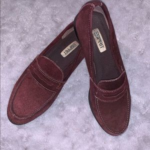 Sprit Burgundy Leather Loafers Women's size 8